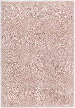 Shaggy Area Rug 140x200 cm Old Pink - Pink - Vidaxl