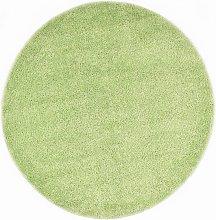 Shaggy Area Rug 160 cm Green - Green - Vidaxl