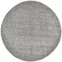 Shaggy Area Rug 160 cm Grey - Grey - Vidaxl