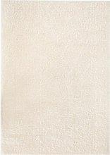 Shaggy Area Rug 160x230 cm Cream