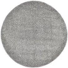 Shaggy Area Rug 67 cm Grey