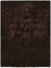 Shaggy Area Rug 80x150 cm Brown VD25372 - Hommoo