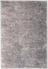 Shaggy Area Rug 80x150 cm Grey