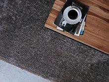 Shaggy Area Rug Dark Grey 80 x 150 cm Modern
