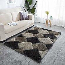 Shaggy Design Grey 160x230cm Approx 8x5 Great