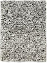 Shaggy Rug - / 140 x 200 cm - Deep pile by Hay Grey