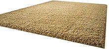 Shaggy Rug Funny Luxus Beige Very Thick Soft Non