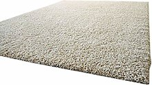 Shaggy Rug Funny Soft Touch Beige Very Soft Non