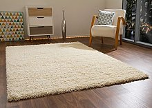 Shaggy Rug Happy XL Soft Touch Cream Thick Non