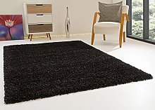 Shaggy Rug Happy XL Soft Touch Granite Thick Non