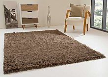 Shaggy Rug Happy XL Soft Touch Taupe Thick Non