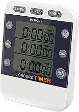 Shakary Digital Timer 100 Hour Triple Count