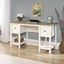 Shaker Style Office Desk in Soft White - Teknik