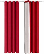 Shang gu Curtain, Set of 2 Double Sided Thermal