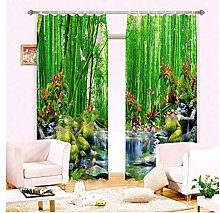SHANGZHIQIN 3D Curtains Bedding Room Living