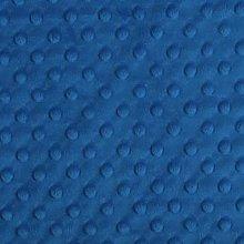 Shannon Dimple Electric Blue Cuddle Plush Fabric -