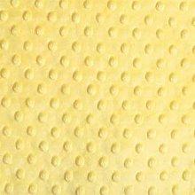 Shannon Dimple Lemon Cuddle Plush Fabric - 100cm x