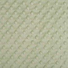 Shannon Dimple Sage Cuddle Plush Fabric - 100cm x