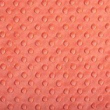 Shannon Dimple Tomato Cuddle Plush Fabric - Per