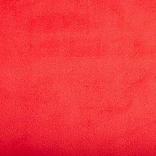 Shannon Smooth Cherry Red Cuddle 3 Plush Fabric -
