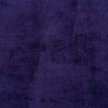 Shannon Smooth Eggplant Cuddle 3 Plush Fabric -