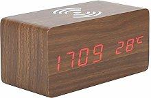 Shanrya Digital Clock, LED Clock, Rectangle Alarm