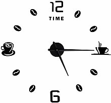 Shanrya Frameless Clock, Wall Clock Good