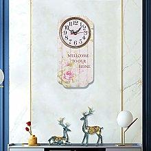 Shanrya Home Clock, Beautiful Clock Wall Clocks
