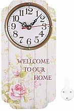 Shanrya Home Clock, Easy To Read Good