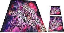 Shanrya Quilt Cover, 3PCS/SetBedding Set Bohemian
