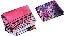 Shanrya Quilt Cover, Purple Bedding Kit Home