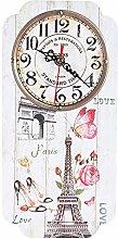Shanrya Wall Clock, Clock Easy To Read Wall Clocks