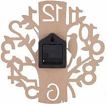 Shanrya Wall Clock, Durable Hanging Clock Wall