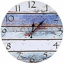 Shanrya Wall Clock, Easy To Read Home Ornament