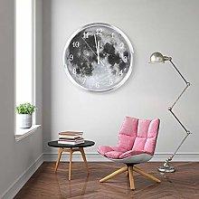 Shanrya Wall Clock, Easy To Read Luminous Clock