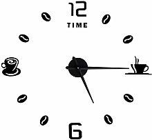 Shanrya Wall Clock, Large Wall Clocks Frameless