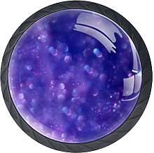 Shapes Blue Purpleknobs Cabinet Handles Kitchen