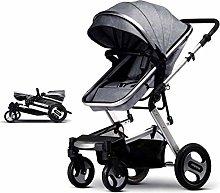 SHARESUN Baby Stroller Bassinet Pram Carriage