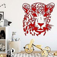 Sharp Leopard Print Wall Sticker Removable Wall