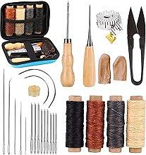 Sharplace 28PCS Leather Sewing Tools Kit,