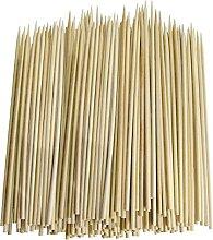 SHATCHI 100 Natural Bamboo Skewers for BBQ Kebab