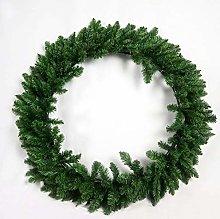 SHATCHI 100CM Green Imperial Pine Wreath Christmas