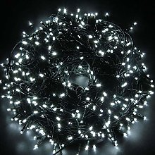 SHATCHI 500 LEDs 55m Bright Indoor/Outdoor String