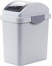 Shatter-Resistant 10L Creative Shake Cover Trash
