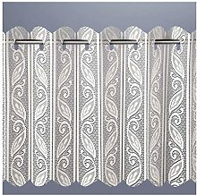 ShawsDirect Filigree Pleated Vertical Blind, Voile