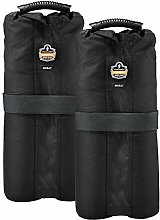 SHAX 6094 Tent Weight Bags, Black