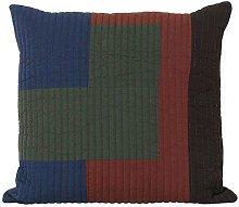 Shay Patchwork Quilt Cinnamon Cushion 50 x 50cm