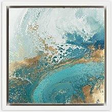 Shaylen Broughton - Abstract Framed Canvas Print,