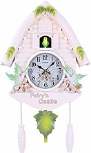 SHDT Cuckoo Clock with Natural Bird Voices,