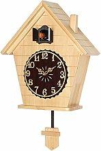 SHDT Elegant Quartz Cuckoo Clock with Cute Bird,